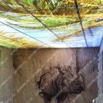 Php_137_2 Потолок витражный фотопечать