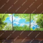 Php_138_1 Потолок витражный фотопечать