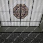 Php_141_1 Потолок витражный фотопечать