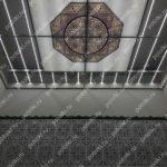Php_141_3 Потолок витражный фотопечать