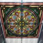 Php_142_2 Потолок витражный фотопечать