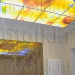 Php_14_2 Потолок витражный фотопечать