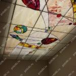 Php_150_1 Потолок витражный фотопечать
