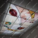 Php_150_2 Потолок витражный фотопечать