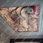 Php_151_1 Потолок витражный фотопечать