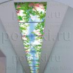 Php_15_1 Потолок витражный фотопечать