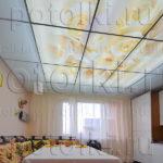 Php_17_1 Потолок витражный фотопечать