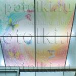 Php_1_1 Потолок витражный фотопечать