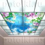 Php_23_1 Потолок витражный фотопечать