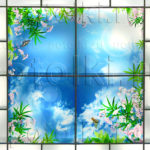 Php_28_2 Потолок витражный фотопечать