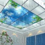 Php_31_1 Потолок витражный фотопечать