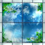 Php_31_2 Потолок витражный фотопечать