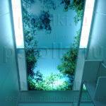 Php_35_1 Потолок витражный фотопечать