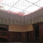 Php_38_1 Потолок витражный фотопечать