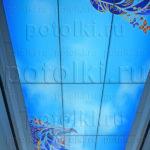 Php_43_1 Потолок витражный фотопечать