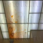 Php_47_2 Потолок витражный фотопечать