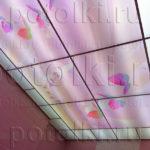 Php_51_1 Потолок витражный фотопечать