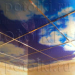 Php_52_1 Потолок витражный фотопечать