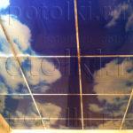 Php_52_2 Потолок витражный фотопечать