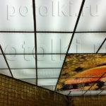 Php_58_2 Потолок витражный фотопечать