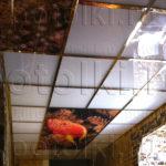 Php_58_3 Потолок витражный фотопечать