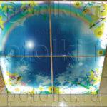 Php_6_1 Потолок витражный фотопечать