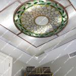 Витражные потолки Тиффани в интерьере